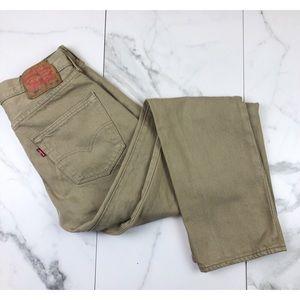 Levi's• 501 Khaki Pants